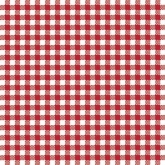 Red Gingham Luncheon Paper Napkins