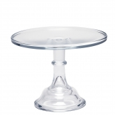 Crystal Cake Stand 10""