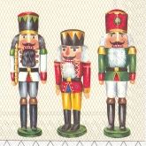 The Three Nutcrackers Luncheon Paper Napkins
