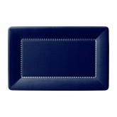 Navy Zing Small Rectangular Cafe Paper Plates