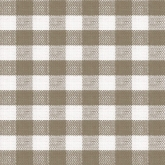 Taupe Grey Gingham Luncheon Pape Napkins