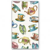 Tea Cup and Tea Pots Buffet Paper Napkins