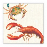 Lobster Beverage Paper Napkins