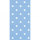 Blue Polka Dot Buffet/Guess Paper Napkins
