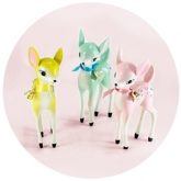 Sweetest Bambi Figurines Set of 3