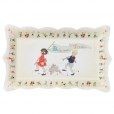 Belle & Boo Children Rectangular Paper Platters
