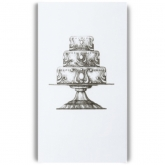 Cake Stand Guest Paper Towels