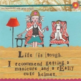 Life is Tough Beverage Paper Napkins