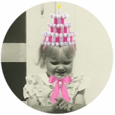 3 Tier Pink Birthday Cake Hat