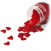 Jumbo Red Hearts Sprinkles