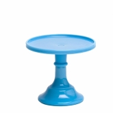 Blue 6 Inch Cake Stand
