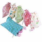 Retro Happy Birthday Treat Bags Set 6
