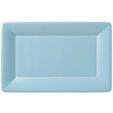 Soft Blue Zing Large Cafe Paper Plates