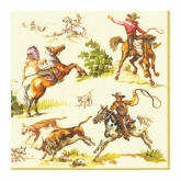 Wild West Beverage Paper Napkins