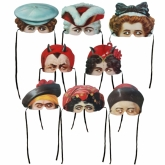 Madame Tussaud Masks Set of 8
