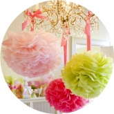 Party Pom Poms Lilly Pulitzer