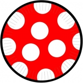 mickey mouse polka dot paper plates