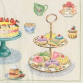 Time for Sweets Lunch Paper Napkins
