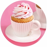 TeaCupCakes Bake Molds Set of 4