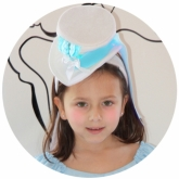 Alice Hat and Choker Set Alice in Wonderland