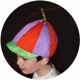 Tweedledee Hat Alice in Wonderland