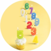 Digit Party Candles
