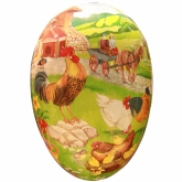 Eggs-traordinary Country Farm Large Egg Container