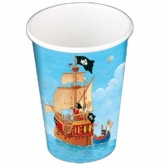Capt'n Sharky Paper Cups