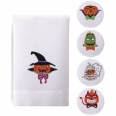 Scary Pumpkins Guest Towels Set Of 5