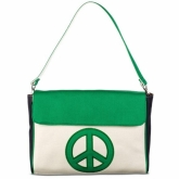 Peace Diaper Clutch Removable Strap