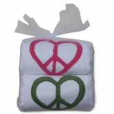 Love Peace Tulle Bag Burpie Duo