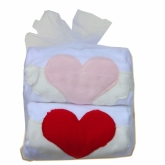 Winged Hearts Tulle Bag Burpie Duo